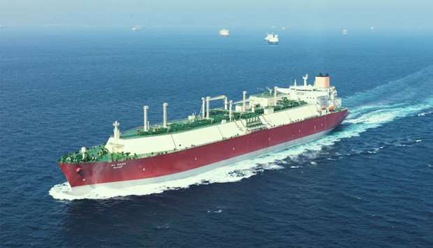 With a cargo carrying capacity of 210,200 cubic meters, Al Sadd is wholly-owned by Nakilat and chart