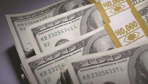 The dollar stumbled yesterday, falling for eight straight weeks, as investors continued to shun it a