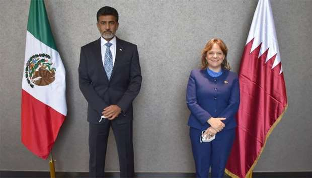 Qatar's embassy provides medical aid to Mexican states