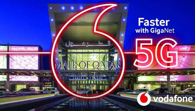 Vodafone Qatar's 5G network launched in Mall of Qatar