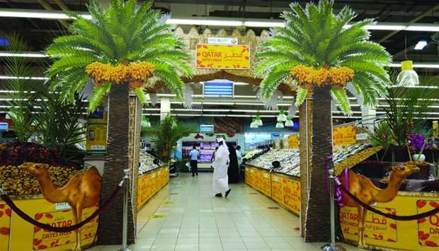 The popular local varieties of dates are available at highly subsidised rates at all outlets of LuLu