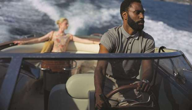ACTION: Elizabeth Debicki and John David Washington star in Tenet, the much anticipated new flick wh