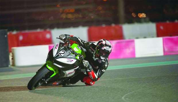 Riders training camp resumes at Losail Circuit Sports Club