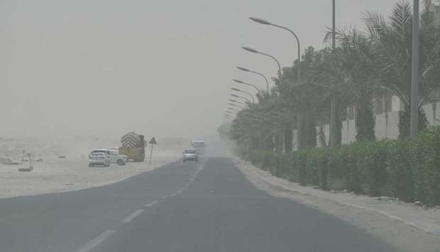 Strong winds and dusty conditions to continue