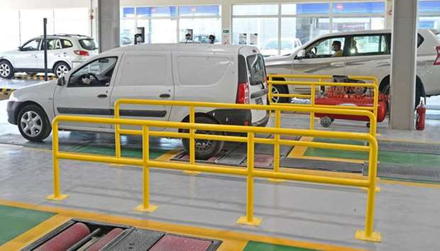 Fahes centres resumed their normal operations for vehicle inspections. PICTURES:  Ram Chand