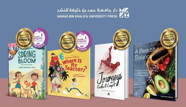The four winning books.