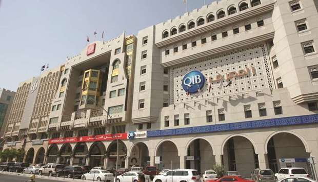 Qatar banks' net profit returned to pre-pandemic levels in the first half of 2021, mainly on an incr