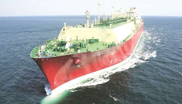 Al Kharaitiyat, Nakilat's one of the liquefied natural gas carriers. Nakilat, DNV and a group of lea