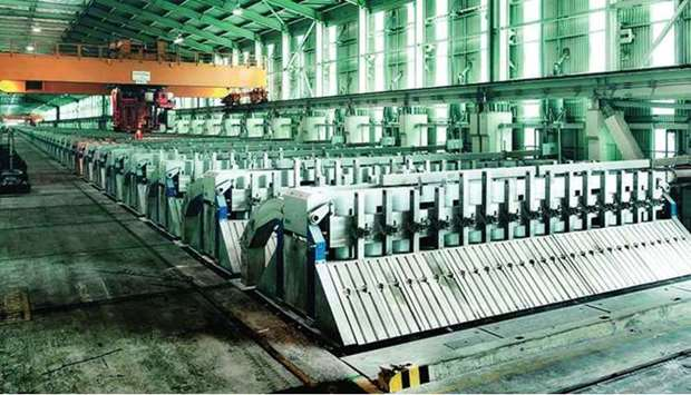 The substantial improvement in the net profitability was on account of the improved global aluminium
