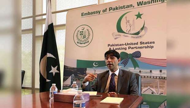 Moeed Yusuf played down the level of influence on the Taliban played by Pakistan. (AFP)