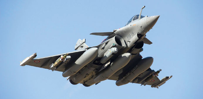 The 'omnirole' fighter jet Rafale. File photo