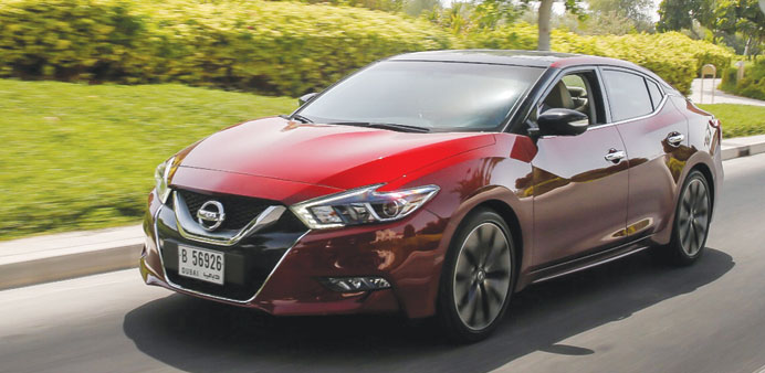 The all-New Nissan Maxima 2016