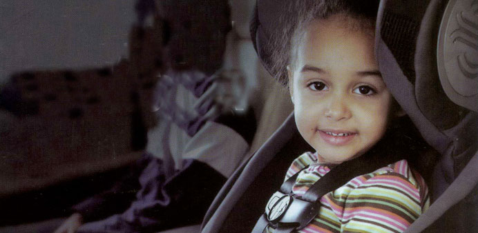 Children are safer in proper seats in vehicles.