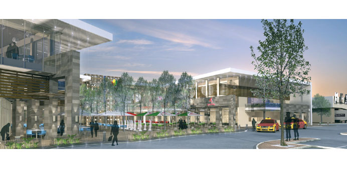An artist's Impression of the soon-to-open West Hills shopping mall in Accra, Ghana. Across Africa,