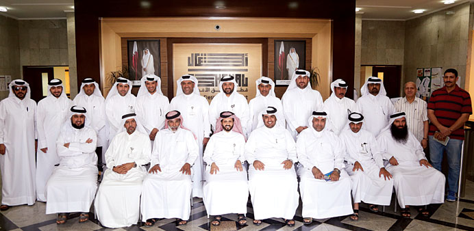 Group photo of participants in the training.