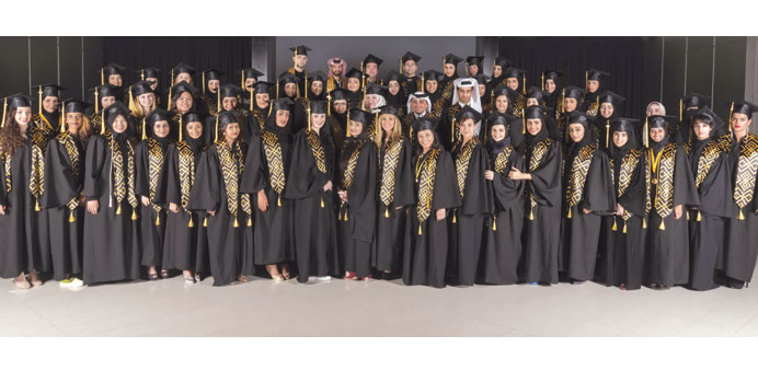 VCUQatar's Class of 2014 at Commencement