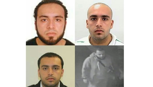 These various images and video grab of Ahmad Khan Rahami