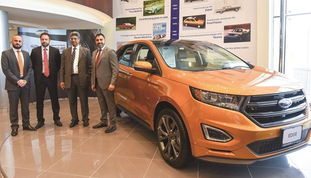 All New Ford Edge Set To Impress At First Sight