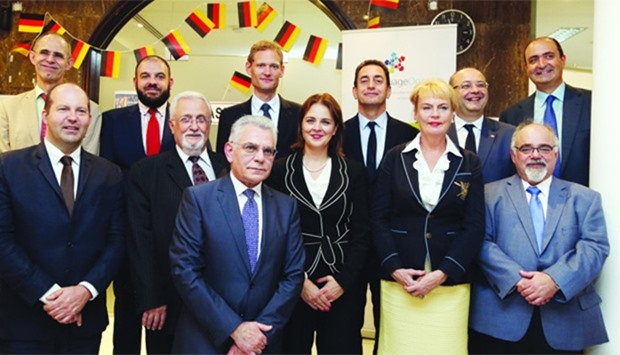Ambassadors and other diplomats at the European Day of Languages celebrations. PICTURE: Jayan Orma