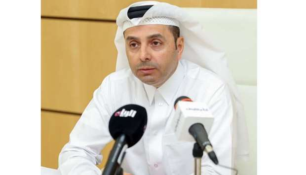 HE the Minister of Education and Higher Education Dr Mohamed Abdul Wahed Ali al-Hammadi addressing a