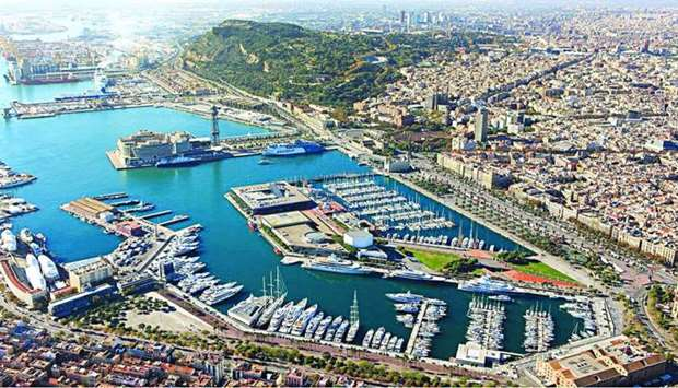 A view of OneOcean Port Vell