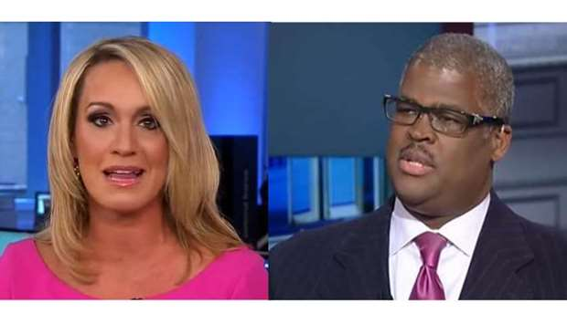 Scottie Nell Hughes and Charles Payne