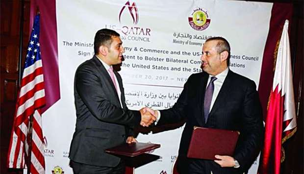 Qatar, US trade body sign pact to boost economic ties