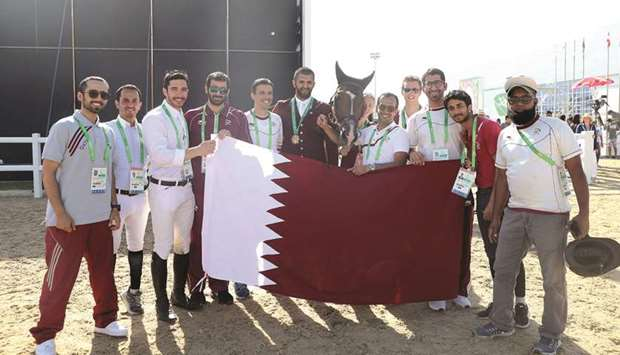 Al-Attiyah wins thrilling jump-off for equestrian gold