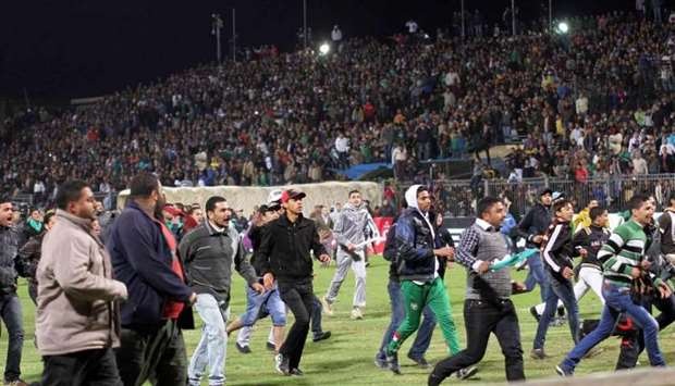 football stadium stampede in Cairo (file picture)