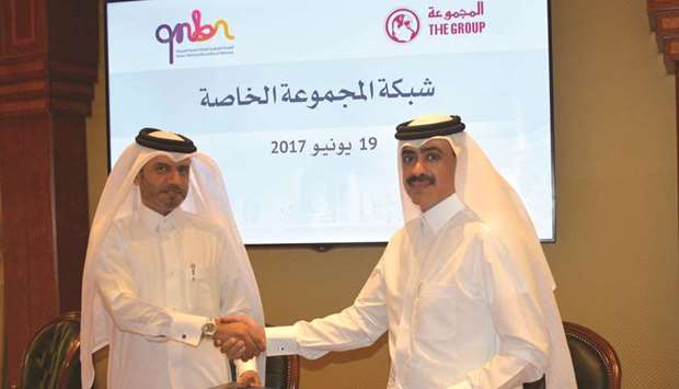 Group Securities, QNBN sign data security deal