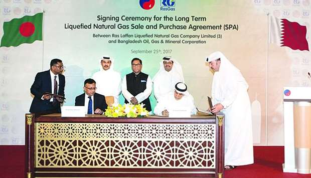 RasGas signs LNG deal with Bangladesh's Petrobangla