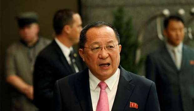 North Korean Foreign Minister