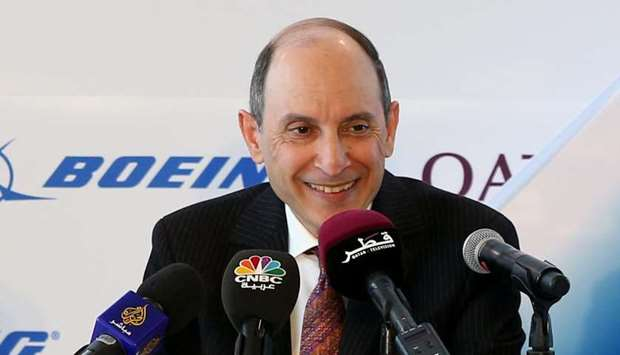 Qatar Airways Group Chief Executive Akbar al-Baker