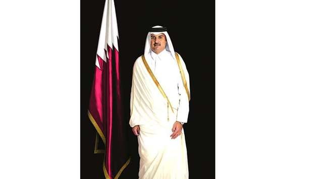 His Highness the Emir Sheikh Tamim bin Hamad al-Thani