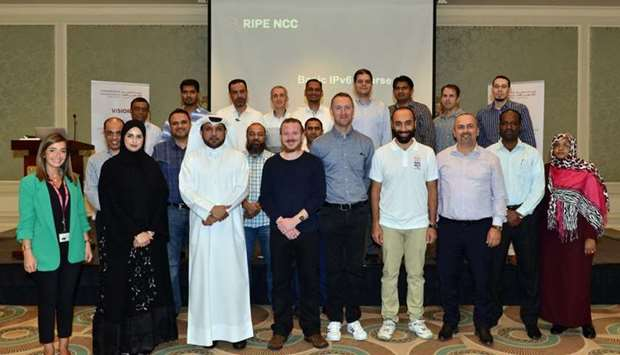 Participants of the three-day technical IPv6 training course.