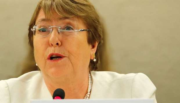 New United Nations High Commissioner for Human Rights Michelle Bachelet