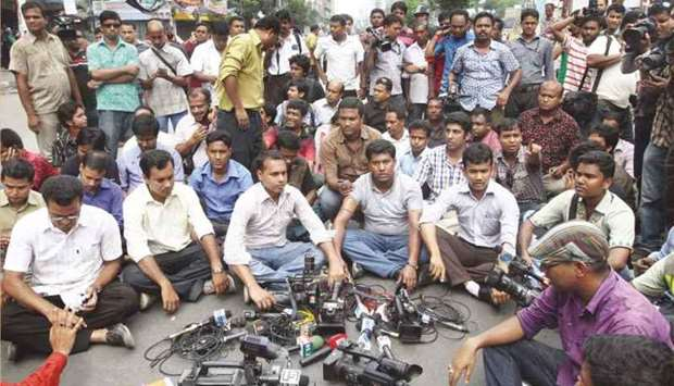 Journalist groups in Bangladesh