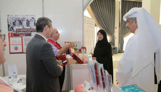 QRCS organised an array of health education activities as part of the recently-held 4th Qatar Patien