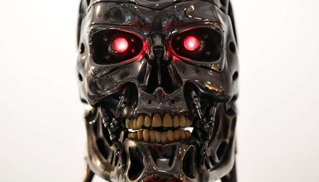 Stan Winston endoskeleton from the film Terminator 2: Judgement Day