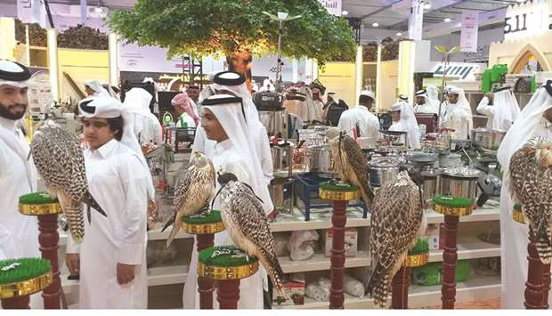 EXHIBITION: The third edition of 'S'hail – Katara International Hunting and Falcons Exhibition' attr