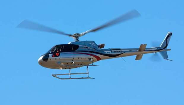 AS350 B3e helicopter