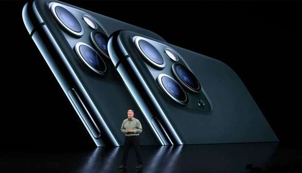 Apple's senior vice president of worldwide marketing Phil Schiller talks about the new iPhone 11 Pro