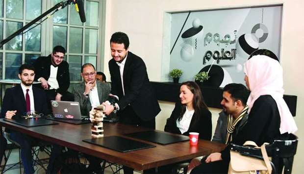 'Stars of Science' will air its first episode on Qatar Television at 10pm on Friday.