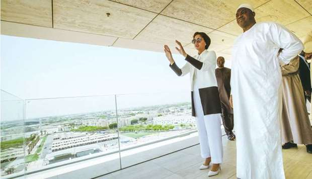 Gambia president tours Qatar Foundation