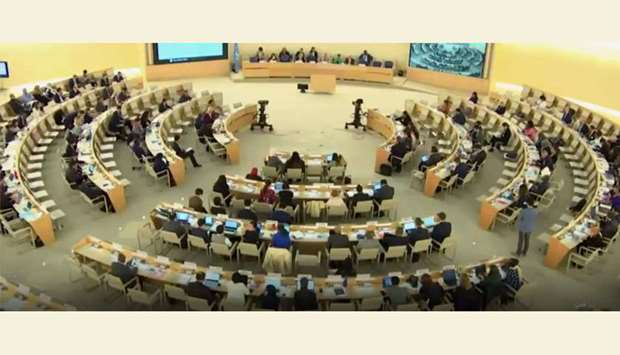 42nd session of the UN Human Rights Council in Geneva