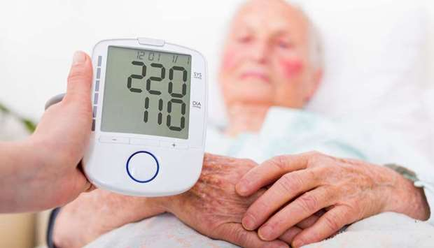 Extremely high blood pressure is dangerous.