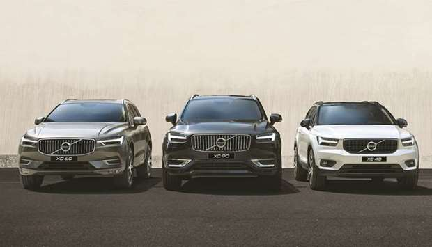 Special offer on Volvo cars during September.