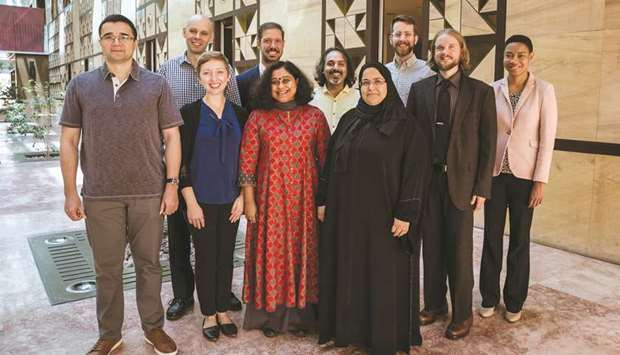 The new faculty members of CMU-Q.