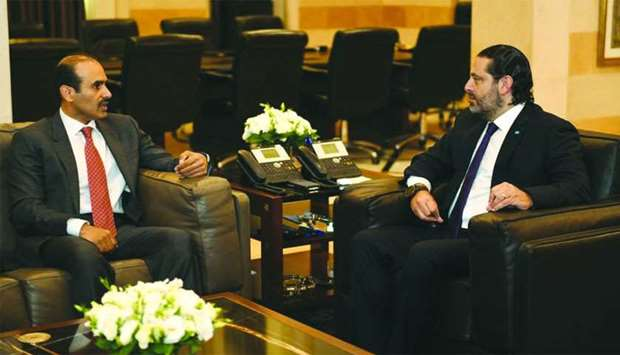 Qatar, Lebanon vow to strengthen business relations