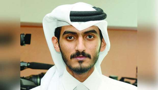 Engineer Mohamed Khalid al-Sharshani, head of the technical section at Tarsheed